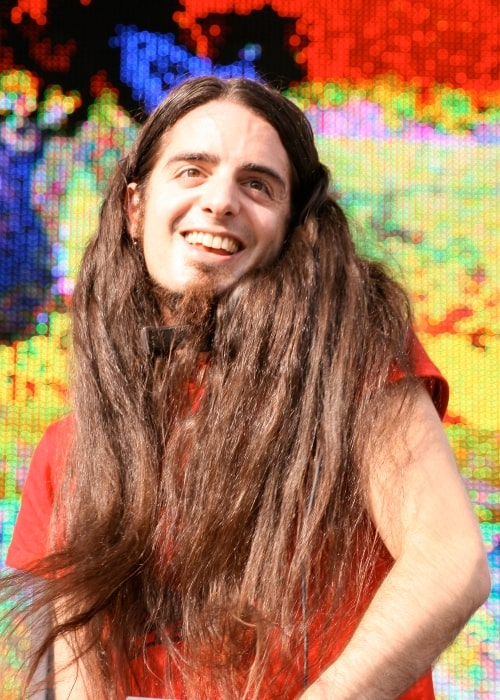Bassnectar as seen in a picture taken during a live performance on June 28, 2008