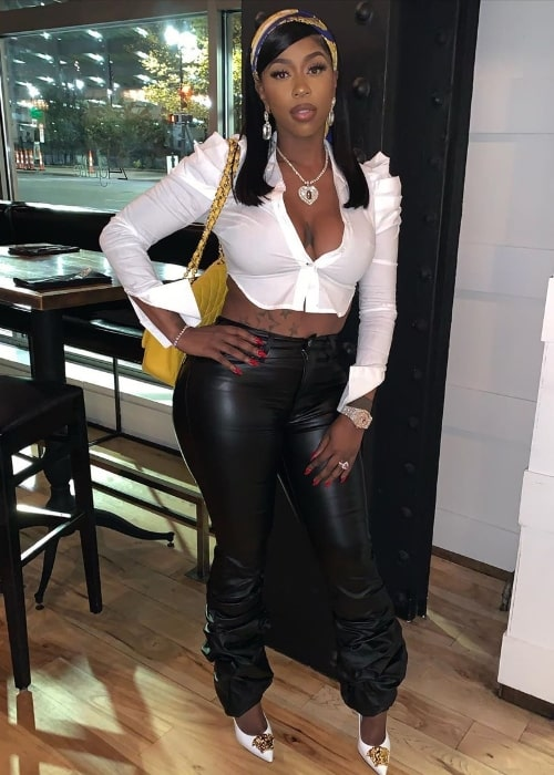 Kash Doll as seen while posing for the camera in November 2019