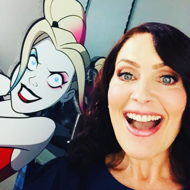 Vanessa Marshall as seen while taking a selfie in December 2019