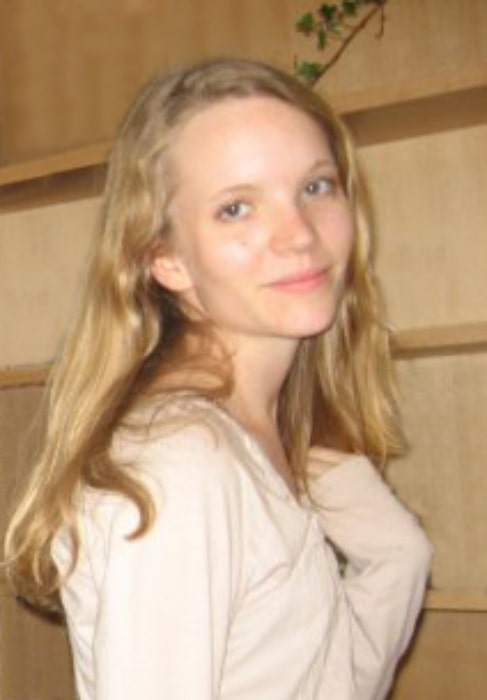 Tamzin Merchant as seen while smiling in a picture