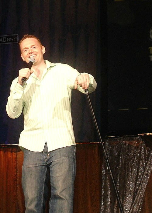 Bill Burr on stage during Opie and Anthony's Traveling Virus Comedy Tour in 2006