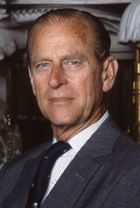 Prince Philip, Duke of Edinburgh as seen in a picture taken in the Chinese room Buckingham Palace in 1992