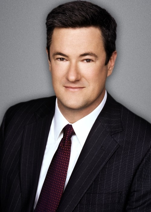 Joe Scarborough as seen while smiling in a picture