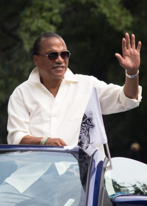 Billy Dee Williams as seen in a picture taken at the August 2013 Dragon Con parade through Atlanta