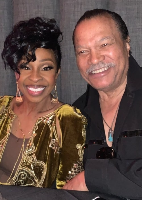 Billy Dee Williams as seen in a picture with singer and songwriter Gladys Knight taken in October 2019