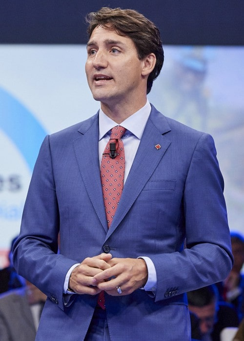 Justin Trudeau as seen in July 2018