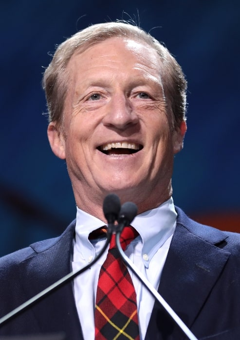 Tom Steyer as seen while speaking at the 2019 California Democratic Party State Convention in San Francisco, California, United States in June 2019
