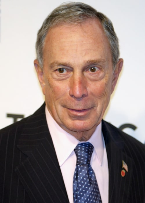 Michael Bloomberg as seen in a picture while attending the premiere of 'The Union' at the 2011 Tribeca Film Festival