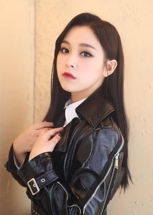 Gahyeon as seen in a picture uploaded to the official Dreamcatcher Instagram account on December 6, 2019