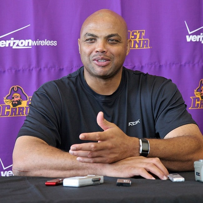 Charles Barkley as seen in August 2008