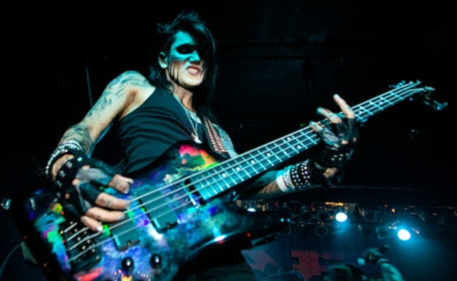 Ashley Purdy during a performance as seen in November 2015