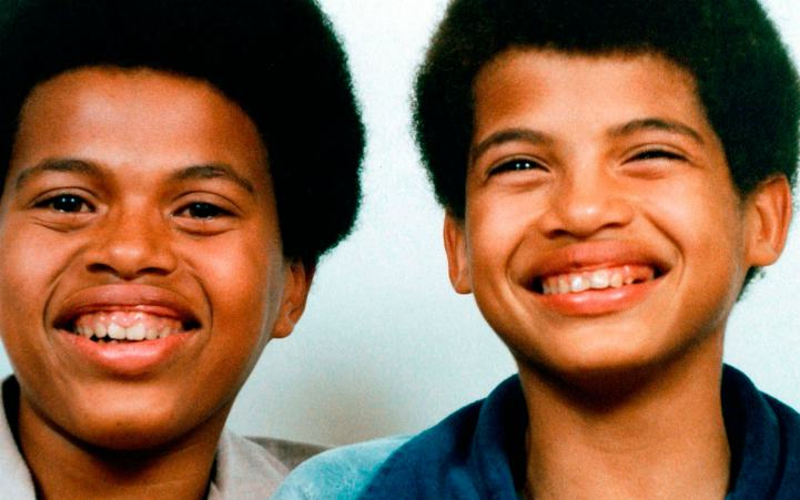 Bison Dele with his brother, Miles Dabord