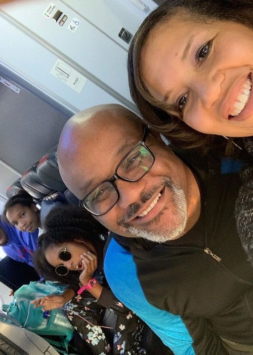 Boyce Watkins with his family as seen in December 2019