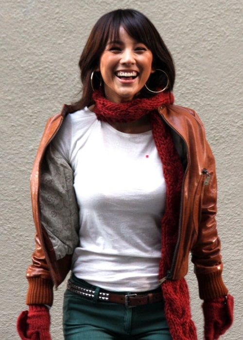 Lee Hyori as seen in a picture take while she was shooting for a commercial in Soho, New York on October 30, 2007