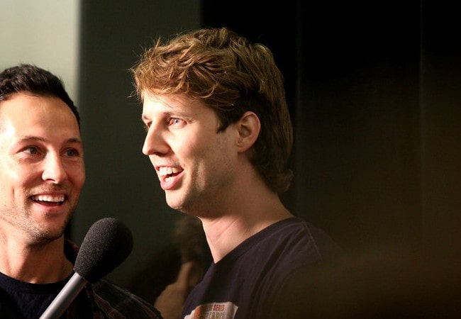 Jon Heder at the 2011 San Diego Comic-Con International in San Diego