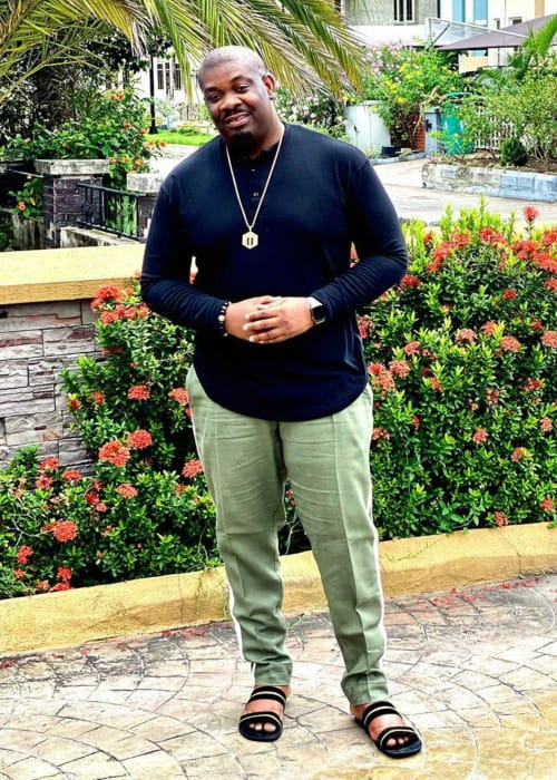 Don Jazzy in an Instagram post as seen in December 2019