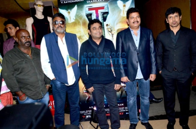 Chiyaan Vikram & A R Rahman unveil the first look of the film 'I' 2013