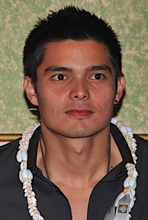 Dingdong Dantes as seen at the Eat Bulaga! Press Conference held in the United States on July 18, 2008