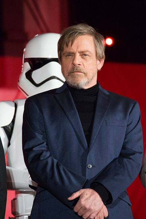 Mark Hamill at the Japanese premiere of Star Wars The Last Jedi in 2017