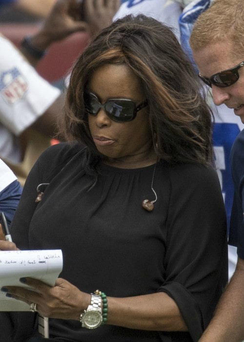 Pam Oliver as seen in September 2016