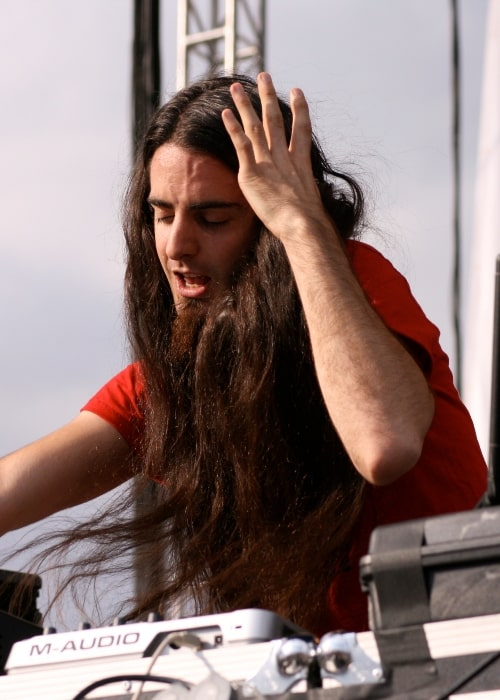 Bassnectar as seen in a picture taken while performing at Southern Comfort Music Experience on June 28, 2008 in Denver, Colorado
