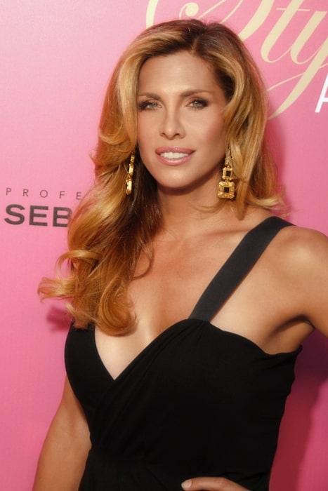 Candis Cayne as seen while posing for the camera at the 6th Annual Hollywood Style Awards in Beverly Hills, Los Angeles County, California in October 2009