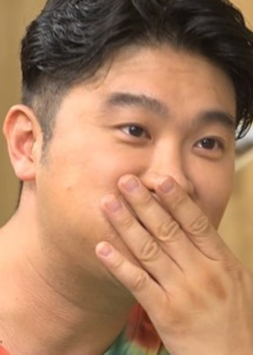 Choiza as seen in a picture taken while sitting at a restaurant in August 2019