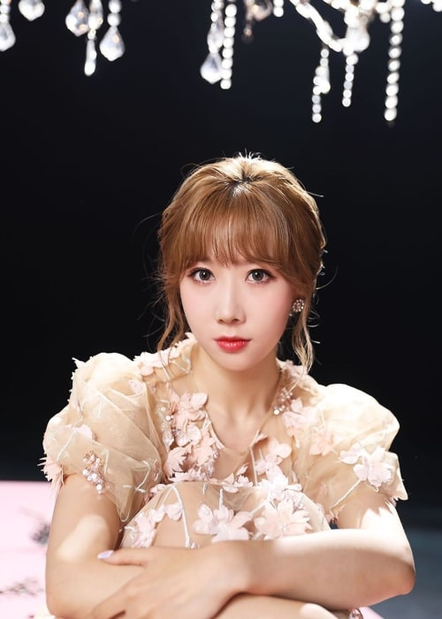 Handong as seen in a picture uploaded to the official Dreamcatcher Instagram account on December 4, 2019