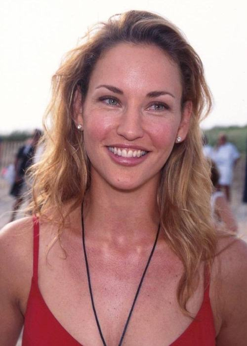 Jill Goodacre in a picture from the 1990s