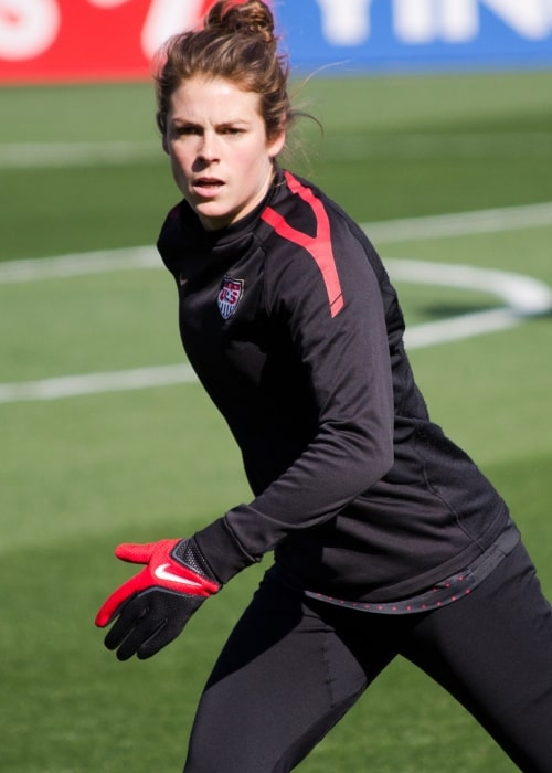 Kelly O'Hara of the United States Women's National Soccer Team as seen in a picture taken in Frisco, Texas in February 11, 2012