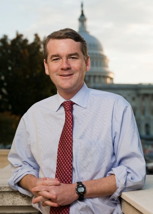 Michael Bennet as seen in one of his official photos