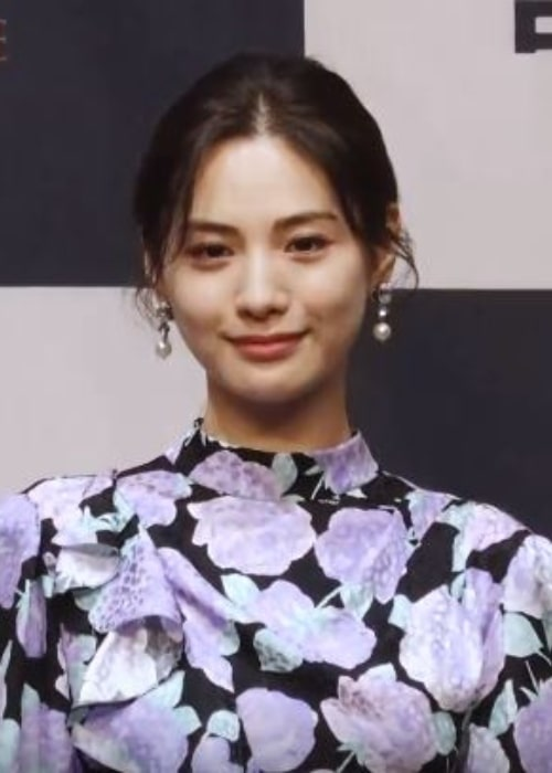 Nana (Im Jin-ah) as seen in a picture taken at the premier of the film Justice at the Ramada Seoul Sindorim Hotel on July 17, 2019