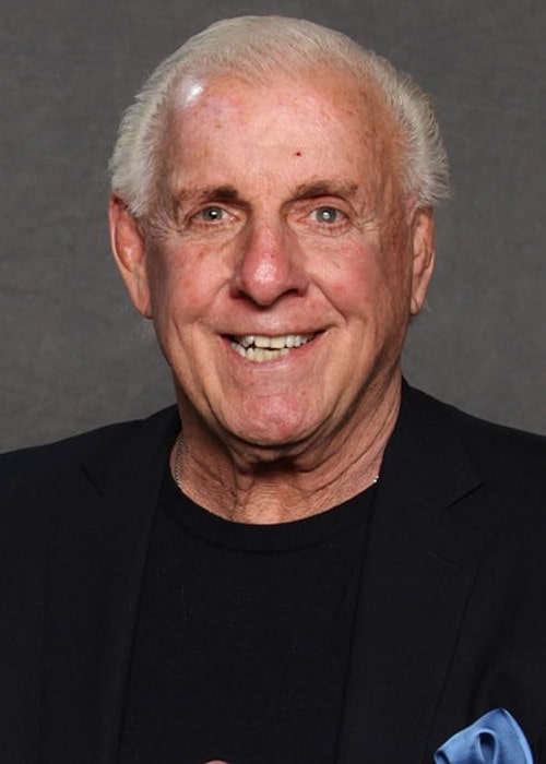 Ric Flair as seen in January 2016