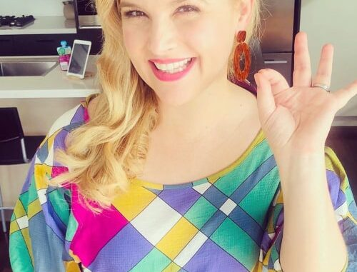 Lucy Durack as seen in an Instagram Post in May 2020
