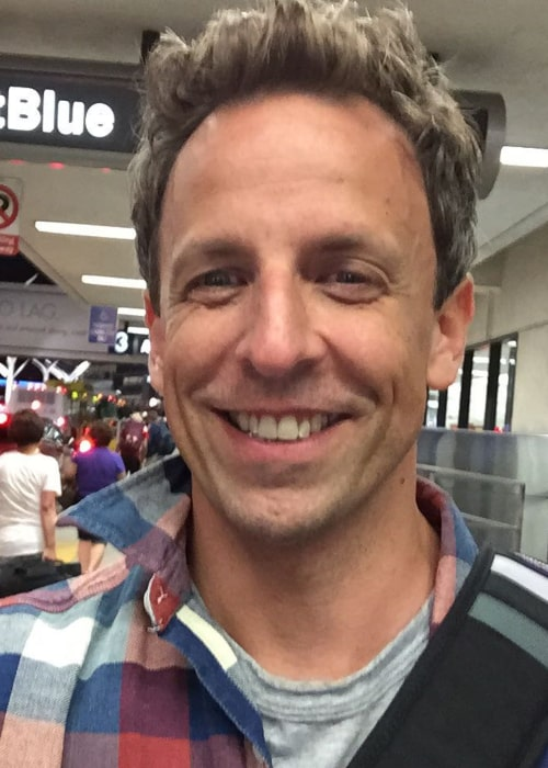 Seth Meyers in an Instagram selfie from September 2015