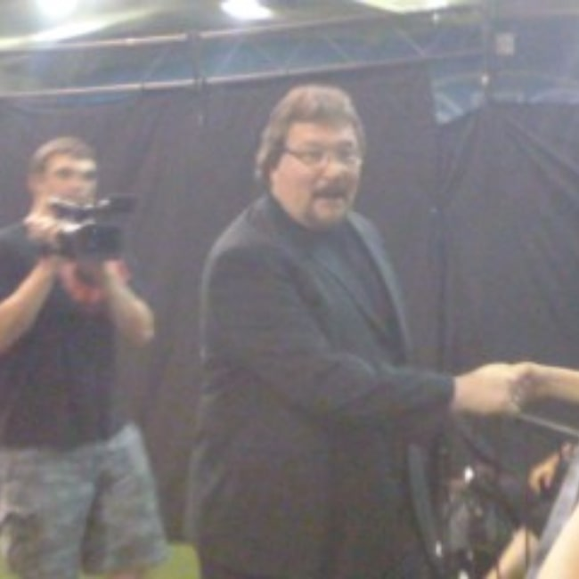 Ted DiBiase as seen in a picture that was taken during an appearance at a local indy show on August 20, 2011