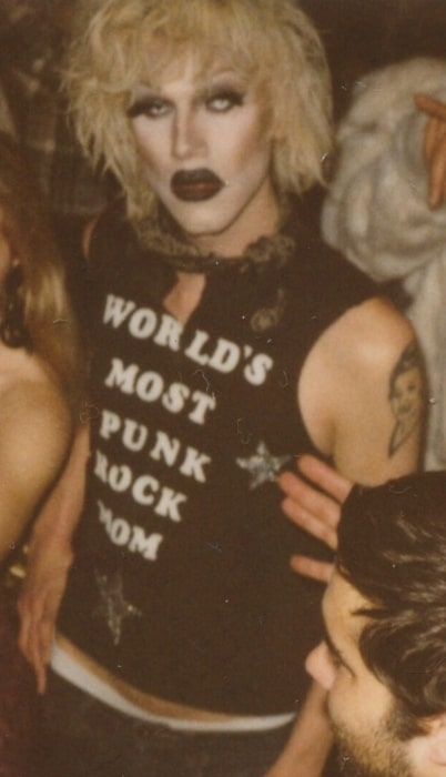 Sharon Needles pictured at Brillobox in Pittsburgh, Pennsylvania, United States in May 2012