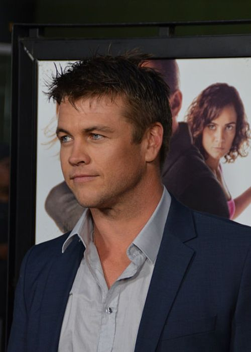 Luke Hemsworth seen at the premiere of Kill Me Three Times in 2015