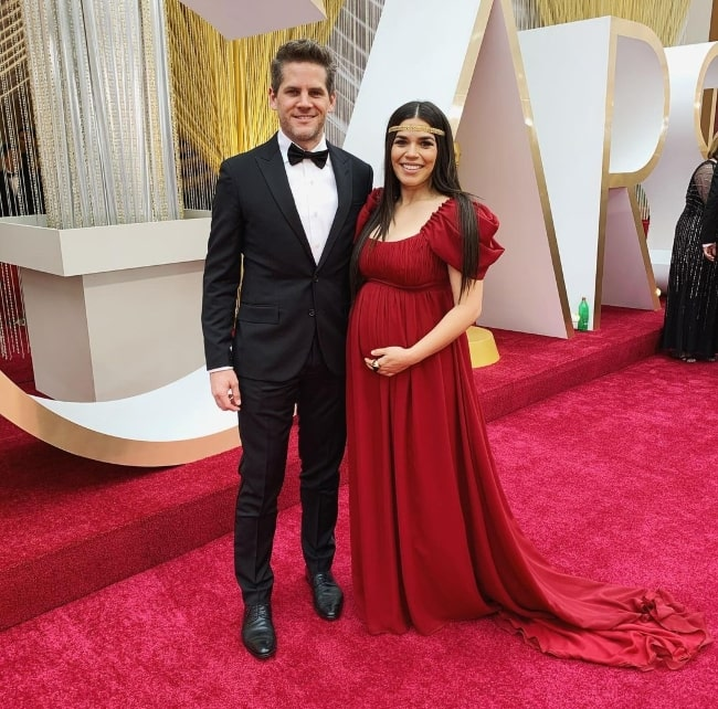 Ryan Piers Williams posing for a picture at the Oscars in February 2020