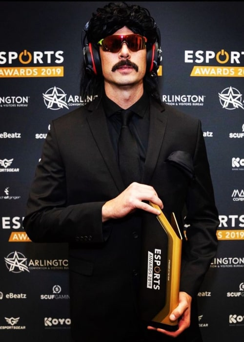 Dr DisRespect as seen in an Instagram Post in November 2019