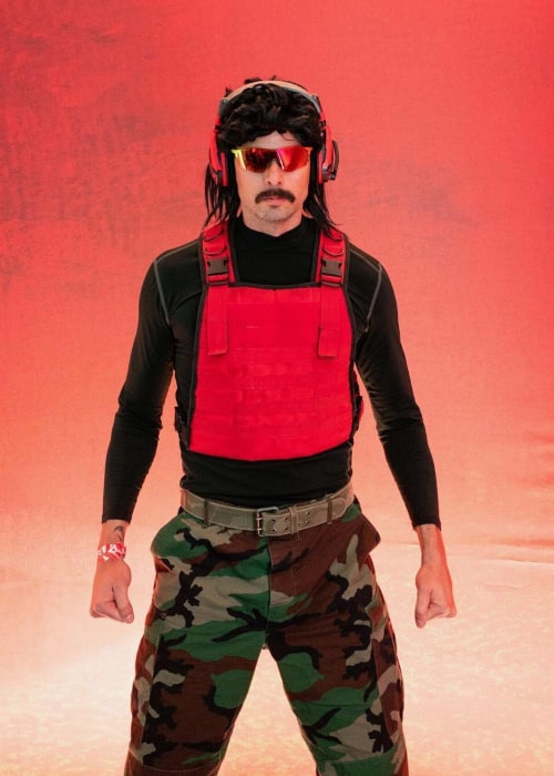 Dr DisRespect as seen in an Instagram Post in February 2019