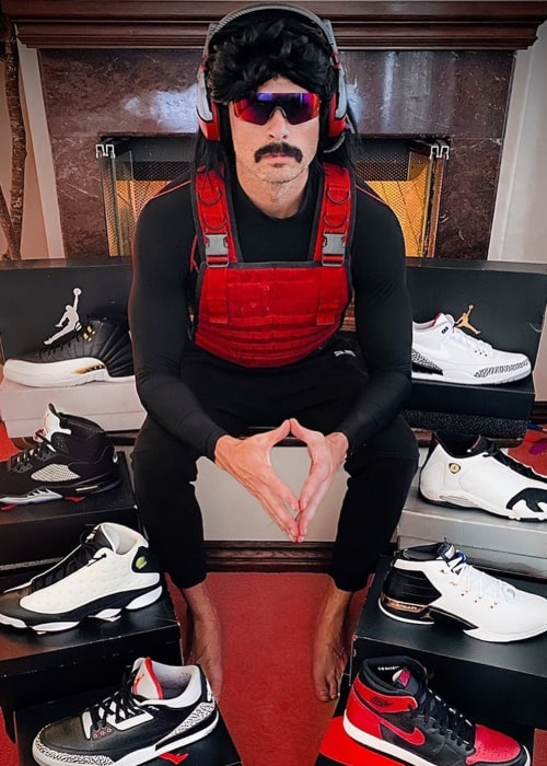 Dr DisRespect as seen in an Instagram Post in May 2020