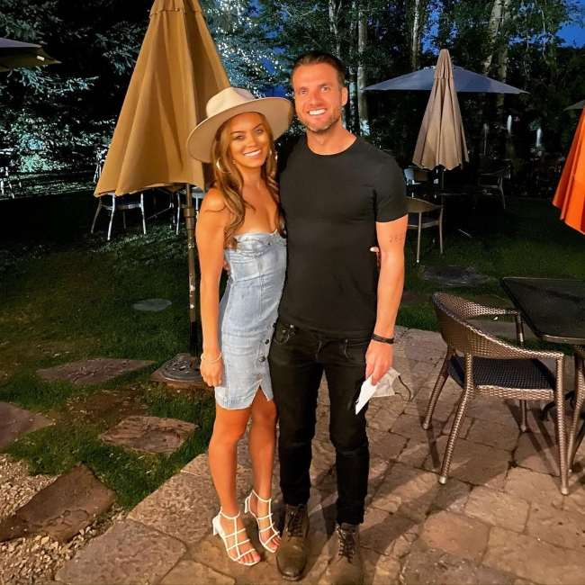 Rian Dawson as seen with Whitney Blake in September 2020