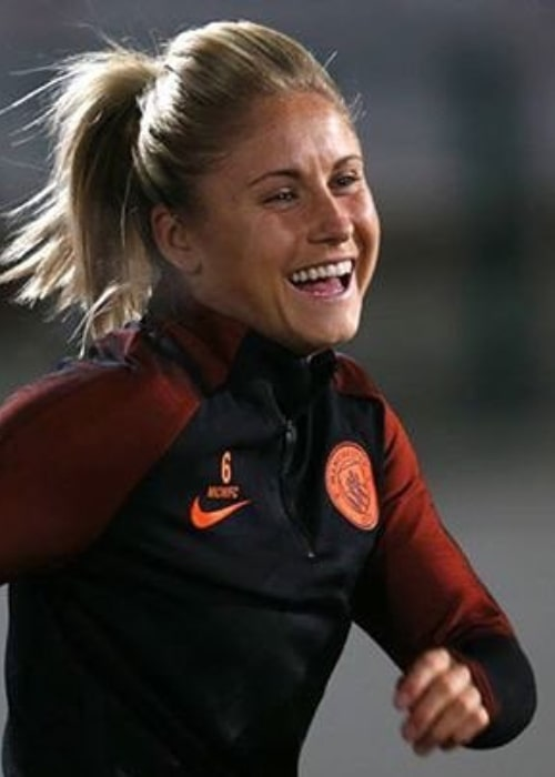Steph Houghton as seen in an Instagram Post in October 2016