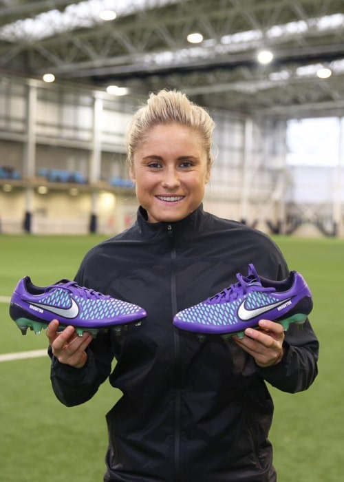 Steph Houghton as seen in an Instagram Post in February 2016