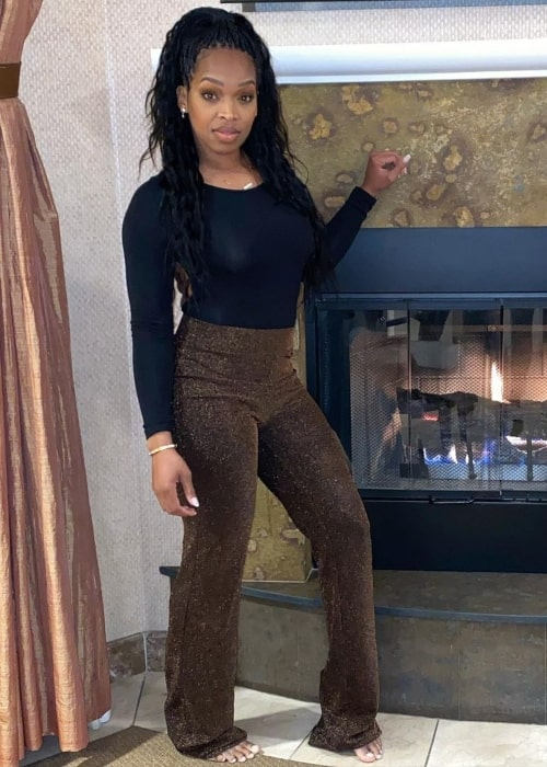 Khadijah Haqq McCray as seen in a picture that was taken in March 2020