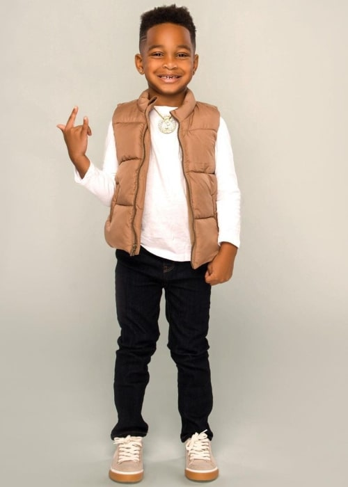 DJ Prince as seen in a picture that was taken in December 2020