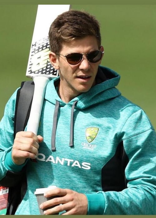 Tim Paine as seen in an Instagram Post in November 2017