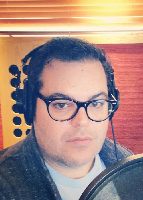 Josh Gad as seen in an Instagram Post in December 2020