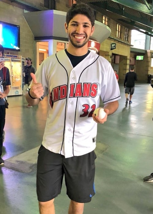 Kyle Kaiser as seen in a picture that was taken at Victory Field in May 2018